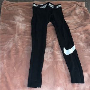 Black work out leggings